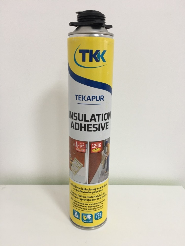 КЛЕЙ - ПІНА TEKAPUR Insulation Adhesive 750 ml