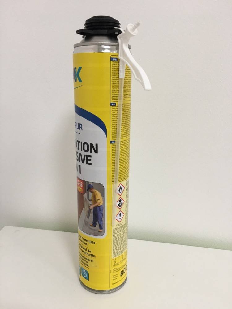 Клей-піна TKK Tekapur Insulation Adhesive 2 in 1 800 ml-2